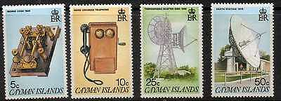 Cayman Islands 1985Telecommunications System MNH