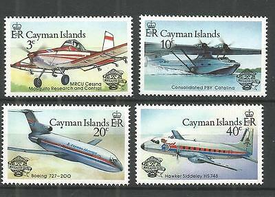 Cayman Islands 1983 Manned Flight MNH