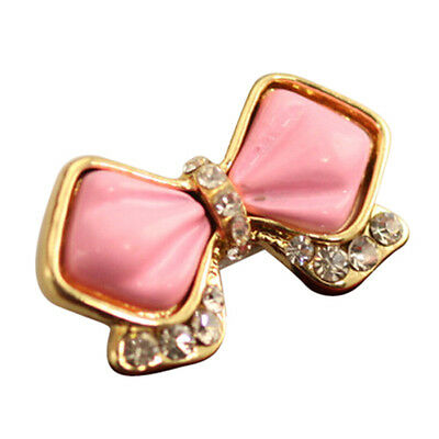 Home Button Sticker-Pink Bowknot Bow for Samsung Galaxy S3 S4 S5 Note 2 3 CT