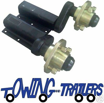 "550 kg Knott - Avonride Trailer suspension units with 4"" wheel hub & bearings"