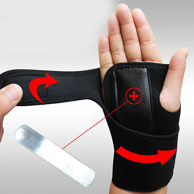 Breathable Carpal Tunnel Wrist Support Brace Relieve Sprain Strain Hand Support