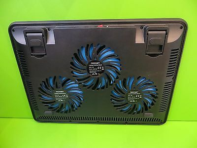 """TeckNet Laptop and Notebook Cooling Pad 3 Fans Cooler Fits 12""""-17"""""""
