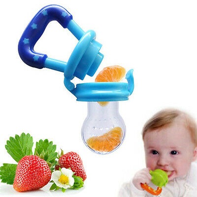 Feeding Pacifier Baby Fresh Food Fruits Feeder Dummy Soother Weaning Nipple