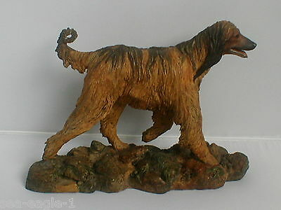 Old Very Rare 1978 Original Border Fine Arts, Limited Edition, AFGHAN HOUND