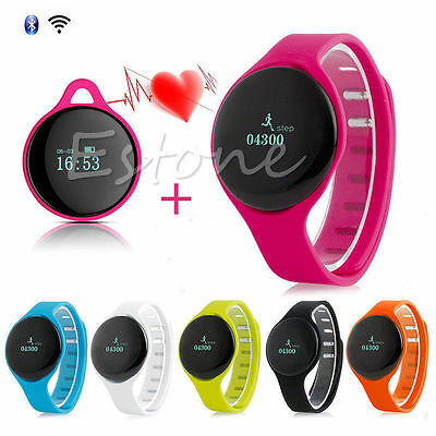 Fitness Pulse Heart Rate Monitor Sports Watch Exercise Running Calorie Counter