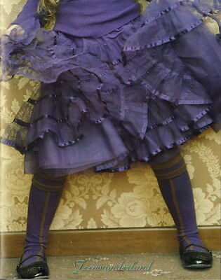 Jottum Purple Thirza full tulle circle skirt age 7 (euro 122) party