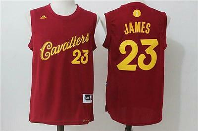 NEW Cleveland Cavaliers LeBron James #23  Christmas Jersey 2016-17 Basketball