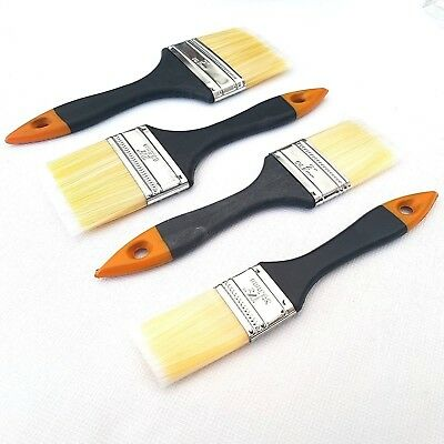 "5 Pack Paint Brush Set Home Painting Decorating Gloss Emulsion Undercoat 1"" - 3"""