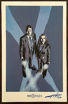 THE X-FILES 2016 Comics Limited Convention Print Signed Numbered Slipcased