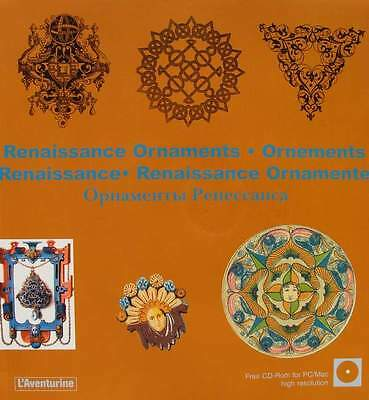 LIVRE + CD-ROM : ORNEMENTS RENAISSANCE (ornaments,ornamente)