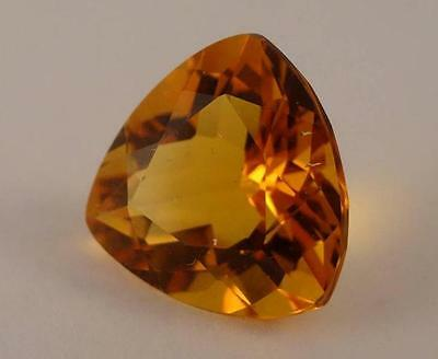 ***NATURAL LOOSE AAA 8.90ct TRILLIANT FANCY-CUT CITRINE GEMSTONE***