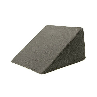Graphite Bed Wedge Cushion Back Rest Upright Support Orthopaedic Pillow Reflux