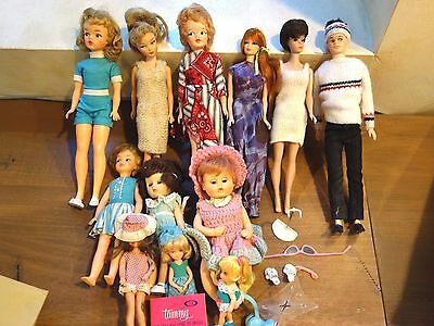 Mixed Lot Dolls  And Accessories