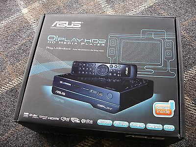 "Asus O!Play HD2 HD Media Player With USB3.0 Connection - 3.5"" Hard Drive Slot"