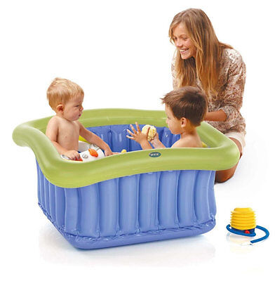 Brand new in gift box Jane universal bath tub to fit shower tray 0-5 yrs & pump