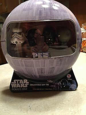 Star Wars Rogue One PEZ Gift Set in Collectible Death Star Tin
