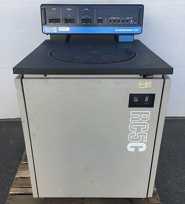 DuPont Sorvall RC5C RC-5C Refrigerated Superspeed Centrifuge w/ Rotor