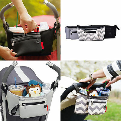 New Travel Baby Pram Storage Diaper Stroller Organizer Pushchair Bottle Basket