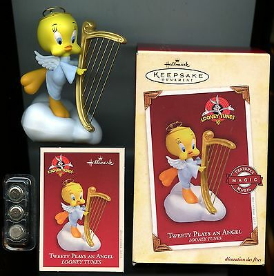 Looney Tunes Collection - Tweety Plays an Angel - Magic Music - w Box & Card