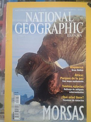 Revista National Geographic Septiembre 2001
