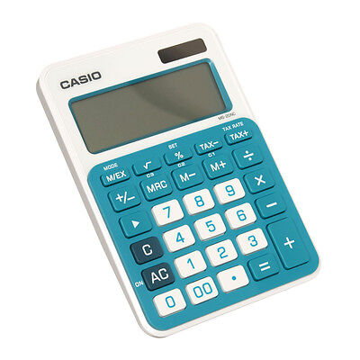 Casio MS-20NC Desktop Calculator Two Way Power 12 Digits Extra Large Display