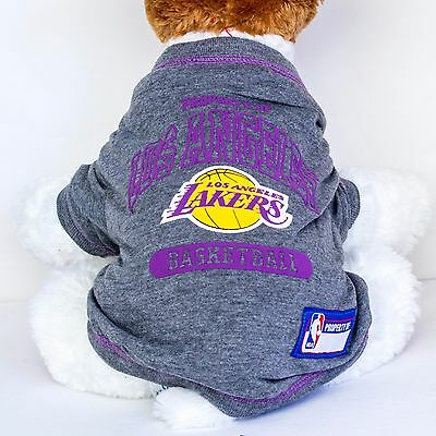 602dd337133 Los Angeles Lakers Dog Shirt NBA Basketball Officially Licensed Pet Product