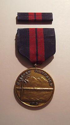 1915 U.S. Marines First Haitian Campaign Medal with RIBBON