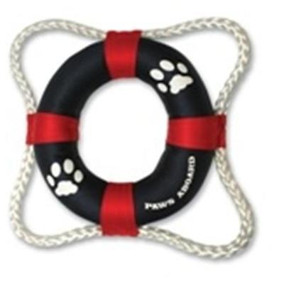 Paws Aboard PAW2400 vie Toy Ring Rouge-Bleu ..