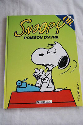 Snoopy Poisson D'avril Schulz 1998