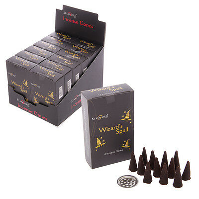 (1x) Stamford Black Incense Cones - Wizards Spell