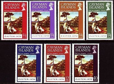 Cayman Islands 1970 Easter MNH