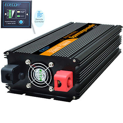 Power Inverter 12V 220V 3500W 7000W Pure Sine Wave convertitore Car Free Remote