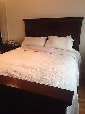 King Size Sleigh Bed Set