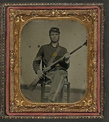 American Civil War,Unidentified Union Soldier,Musket,Military,1861-1865 1
