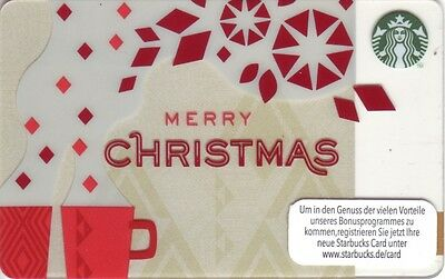 STARBUCKS Card from Germany   2013   10