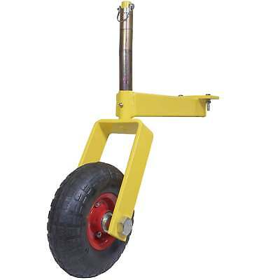 Pair of Titan Landscape Rake Wheel Attachments Adjustable Height