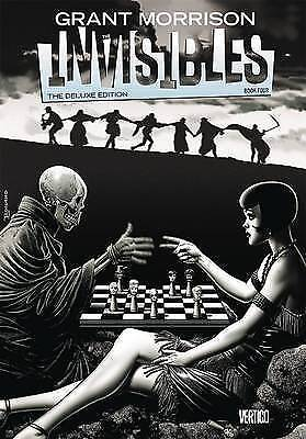 The Invisibles: Book 4 Deluxe Hardback by Grant Morrison (Hardback, 2015) NEW