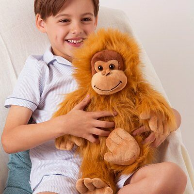 Aroma Home Hot Hugs Orangutan Microwave Heated Plush Animal Hottie Soft Toy Bear