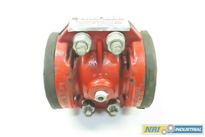 Red Valve 07-3801 Type A Pinch Valve Size 0.75x1 Iron Flanged