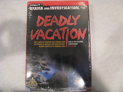 Deadly Vacation Gladins International Edition Game Sealed New
