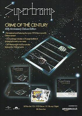 Supertramp - Crime of the Century 40th Ann. Edition - A4 Photo Print