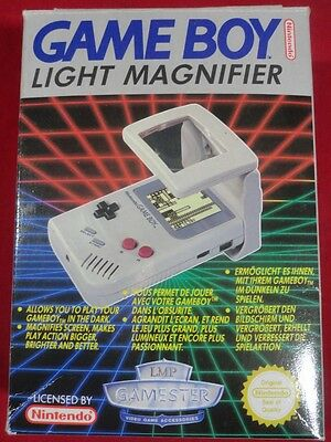 Game Boy Light Magnifier Gameboy Light Magnifier Magnifying Glass Mint Loupe