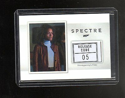 2016 James Bond Archives Spectre Edition Relic MR4 Moneypenny Files Spec 71/150