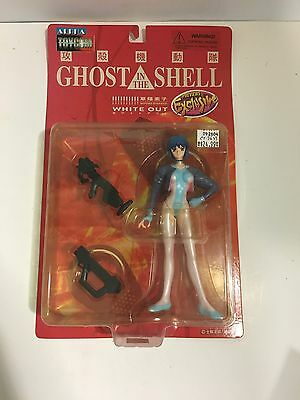 "Alpha Toycom Motoko Kusanagi Ghost in the Shell White Out 7"" Tall Action Figure"