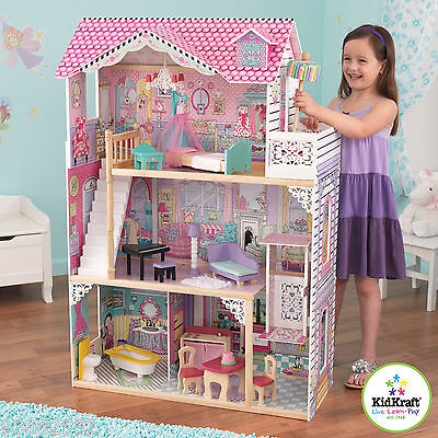 Annabelle Dollhouse by Kidkraft  - Wooden Doll House ~ ideal for Barbie Dolls