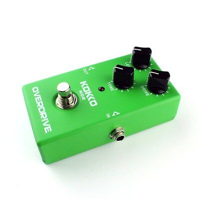 Professional Vintage Overdrive Guitar Effect Pedal Overload Guitar Stompbox H1