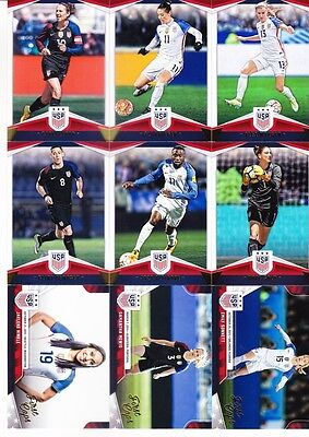 2016 Panini USA Soccer National Team Set (48) + First Caps (16) Morgan ++ New!!!