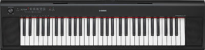 YAMAHA NP12 61-KEY DIGITAL PIANO KEYBOARD with ADAPTOR & 2 DVD SET 3YR WARRANTY