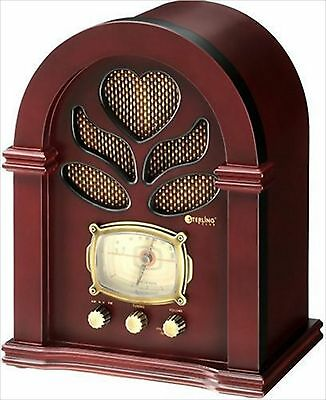NEW Sterling wooden retro classic radio F/S from japan With Tracking