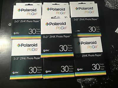 210 Sheets Polaroid  Zink Photo Paper Instant Mobile Printer LG Zip PoGo Snap
